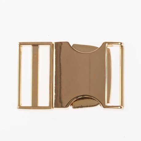 Boucle en métal 25 mm - Doré brillant