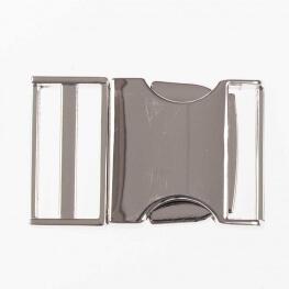 Boucle en métal 25 mm - Argent brillant