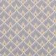 Tissu coton enduit éventails - Gris