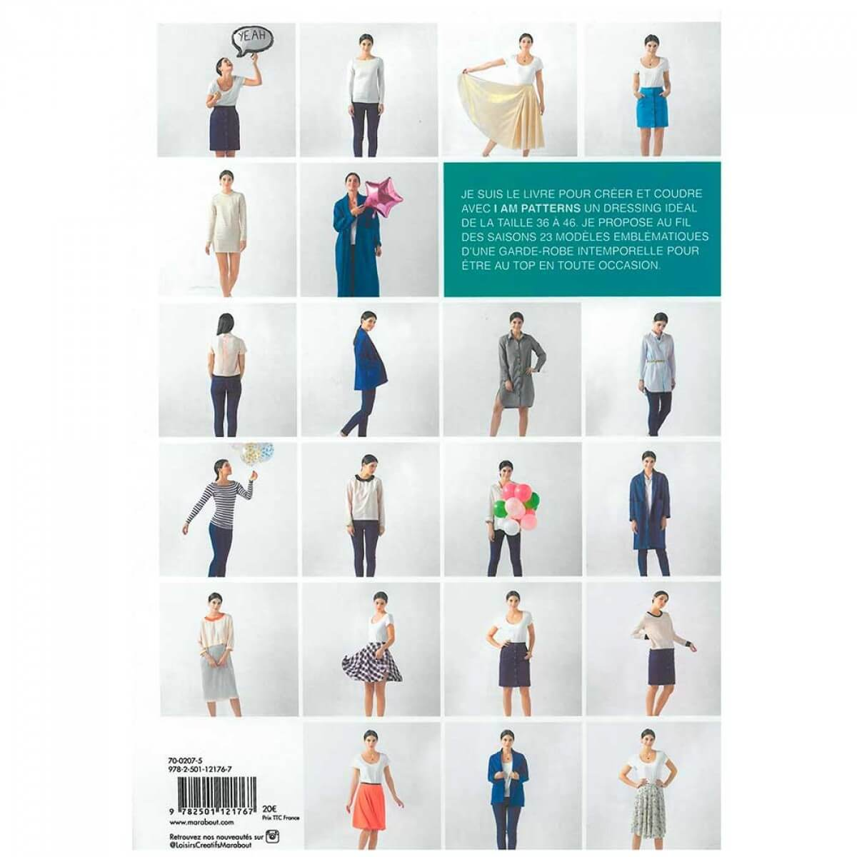 Livre couture dressing id al i am patterns - Livre dressing ideal ...