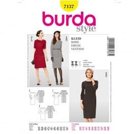 Patron de robe femme - Burda 7137 - Cousu Main saison 3