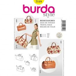 Patron de sacs - Burda 7119 - Cousu Main saison 3