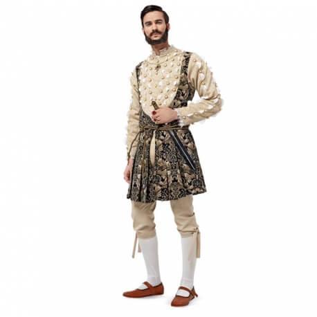 Patron déguisement homme renaissance anglaise - Burda 6888
