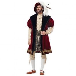 Patron déguisement homme renaissance anglaise - Burda 6887