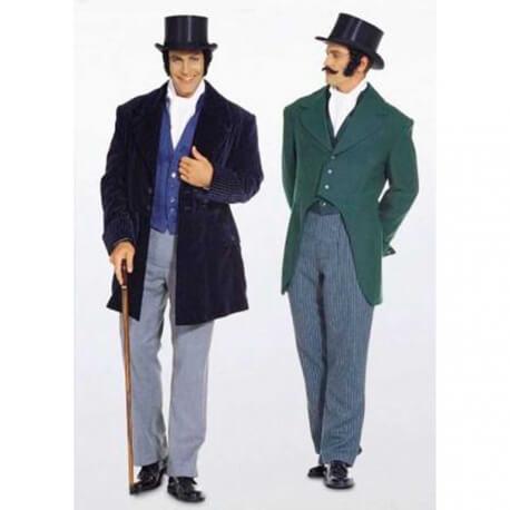 Patron déguisement homme historique 1848 - Burda 2767