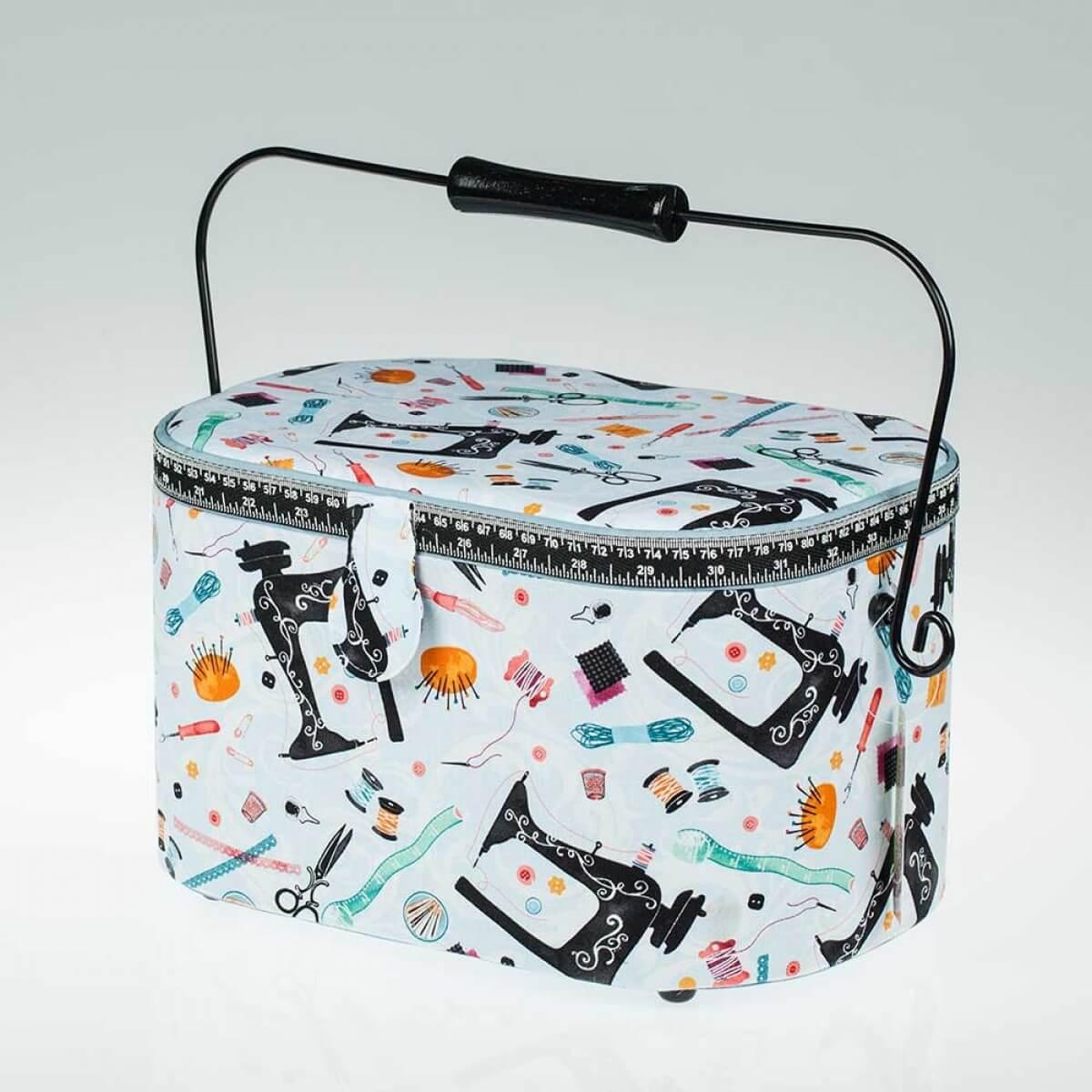 Boite couture tissu couture addict for Couture boite