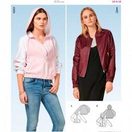 Patron veste femme - Burda 7184