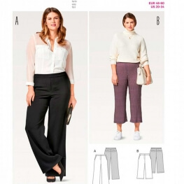 Patron de pantalon femme - Burda 6492