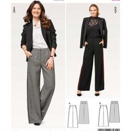 Patron de pantalon femme - Burda 6470