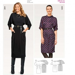 Patron de robe femme - Burda 6451