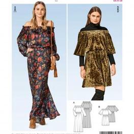 Patron de robe femme - Burda 6474