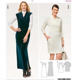 Patron de robe femme - Burda 6455