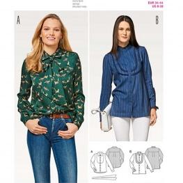 Patron de blouse femme - Burda 6460