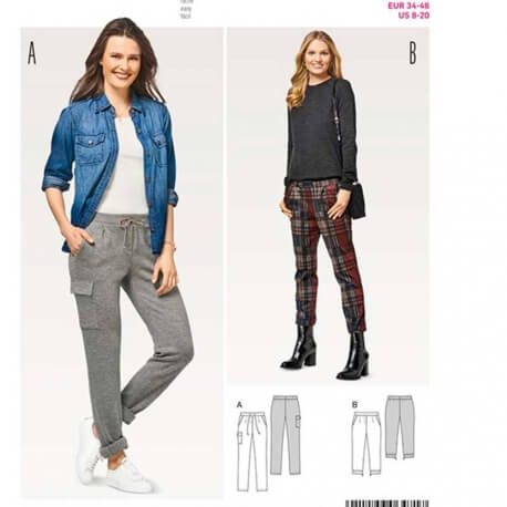 Patron de pantalon femme - Burda 6471