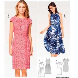Patron de robe femme - Burda 6521