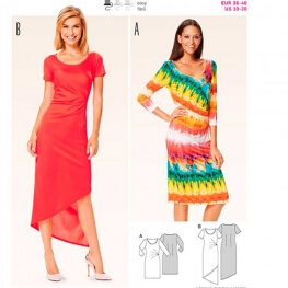 Patron de robe femme - Burda 6641