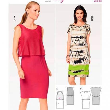 623303c2b1619 Patron de robe femme, Burda 6508