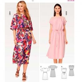 Patron de robe femme - Burda 6509