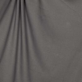 Tissu jersey uni ultra doux gris - 100% coton biologique