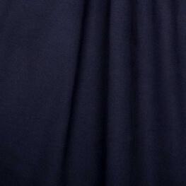 Tissu jersey uni ultra doux bleu marine - 100% coton biologique