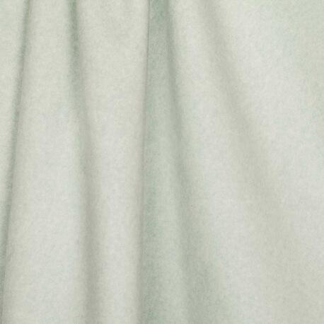 Tissu polaire uni ultra doux vert - 100% coton biologique