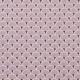 Tissu coton cretonne éventails dorées - Violet lavande