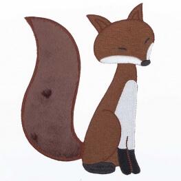 Ecusson grand renard
