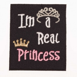 Ecusson I'm a real Princess
