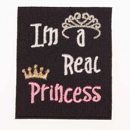 Ecusson I'm a real Princess