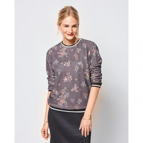 Patron sweatshirt femme - Burda 6406
