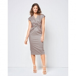 Patron de robe femme - Burda 6411