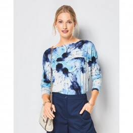 Patron t-shirt femme - Burda 6415