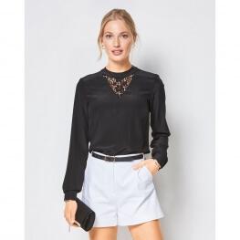 Patron blouse femme - Burda 6424