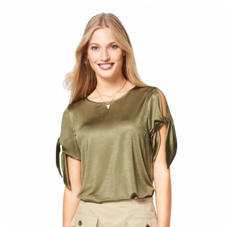 Patron t-shirt femme - Burda 6427