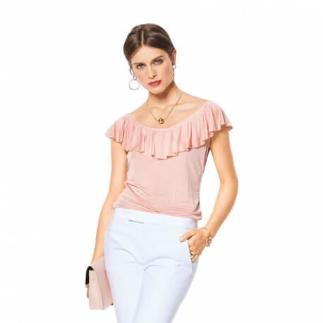 Patron t-shirt femme - Burda 6428