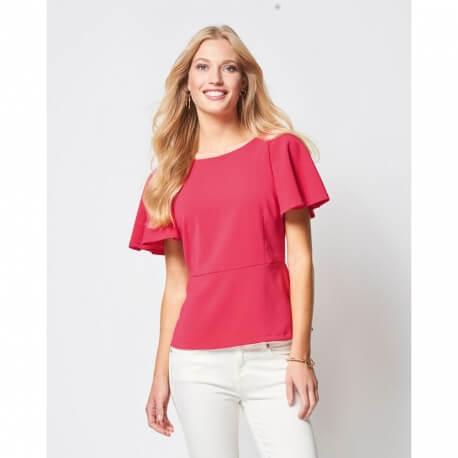 Patron t-shirt manches cloche femme - Burda 6429