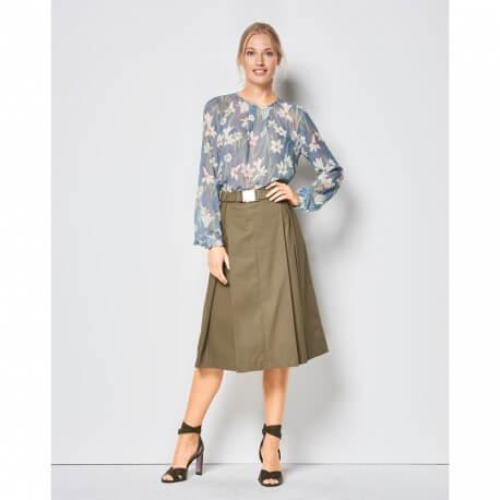 Patron jupe plissée - Burda 6430