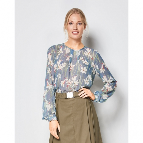 Patron blouse femme - Burda 6434
