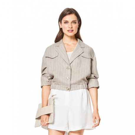 Patron veste femme - Burda 6437