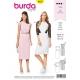 Patron de robe - Burda 6438
