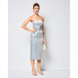 Patron de robe à corsage femme - Burda 6441