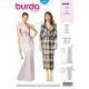 Patron de robe - Burda 6442