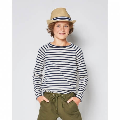 Patron tee-shirt enfant manches raglan - Burda 9346