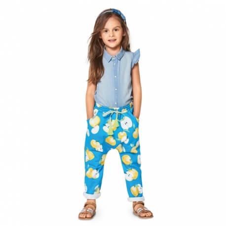 Patron pantalon enfant 2 à 7 ans - Burda 9346