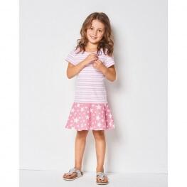 Patron robe pour enfant 2 à 7 ans - Burda 9341