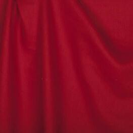 Tissu lin lavé uni rouge - Tissu 100% biologique