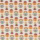 Tissu coton cretonne birdy & holly - Fleurs