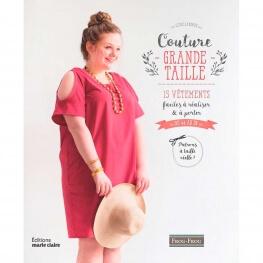Livre couture - Couture grande taille, 15 vêtements faciles à réaliser & à porter