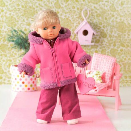 Patron habits de poupée - Burda 7753