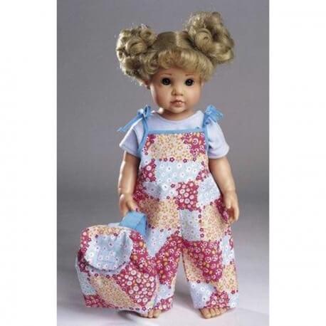 Patron habits de poupée - Burda 8308
